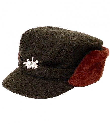 Čepice s umělou kožešinou - Loden AFARS