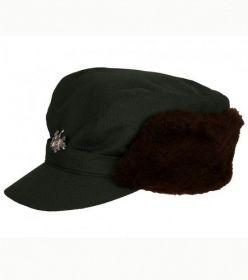Čepice s umělou kožešinou - Twill