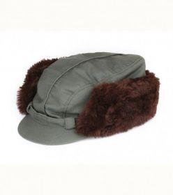Čepice Twill s pravou kožešinou - převlek (reflexní) AFARS