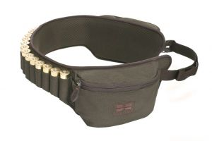 Hillman nábojový pás s kapsami - dub