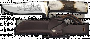 Lovecký nůž s obrázkem jelena 11 cm