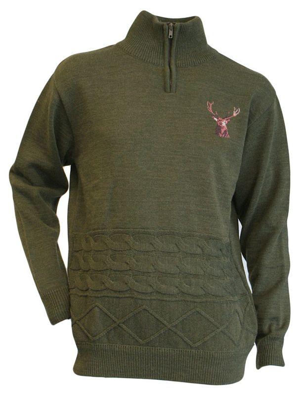Lovecký svetr s jelenem LMA