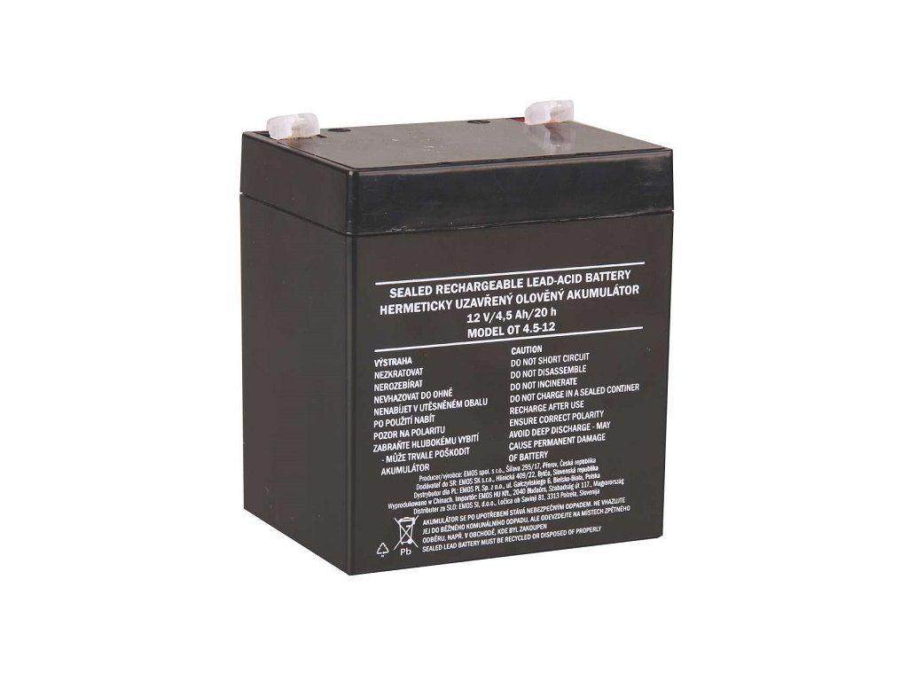 Akumulátor 12V 5AH EMOS