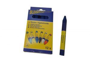 Lesnická křída Bleispitz 12mm,12ks/balení modrá