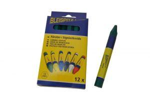 Lesnická křída Bleispitz 12mm,12ks/balení zelená