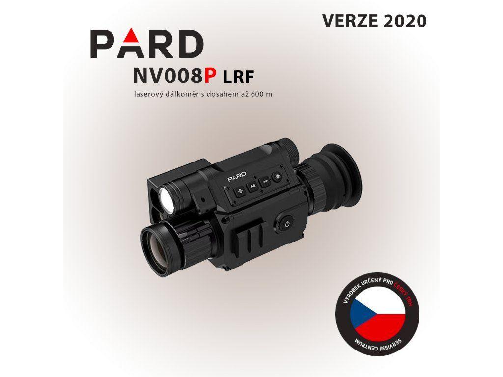 PARD NV008+ LRF (s dálkoměrem) model 2020