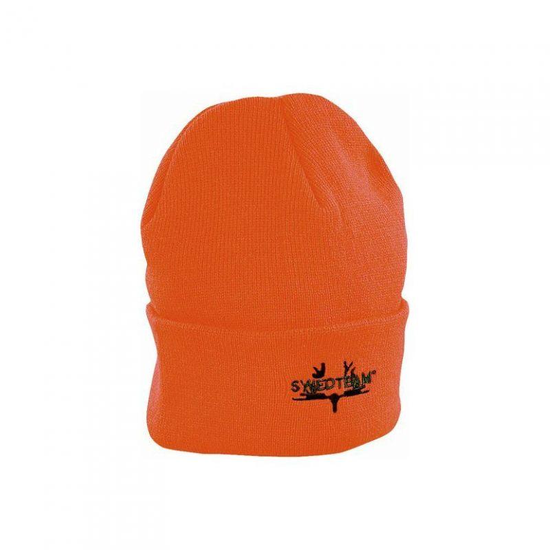 Swedteam Knitted Orange pletená čepice - oranžová
