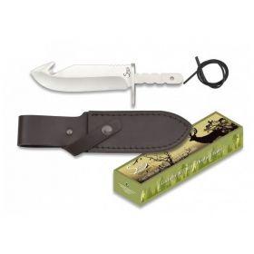 Albainox nůž DEER - polotovar s pevnou čepelí a pouzdrem