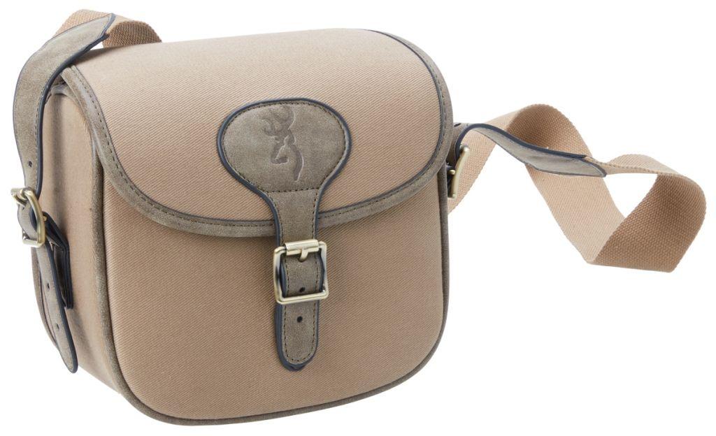 Browning taška přes rameno na patrony - hnědá
