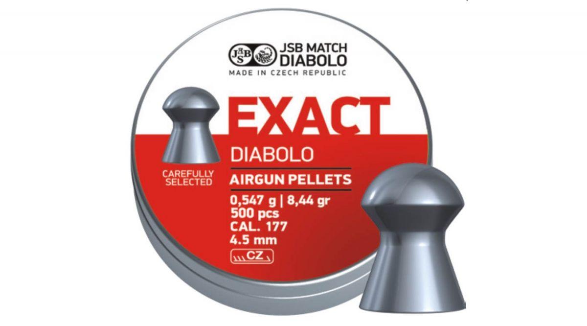 Diabolo JSB Exact 4,50mm 500ks