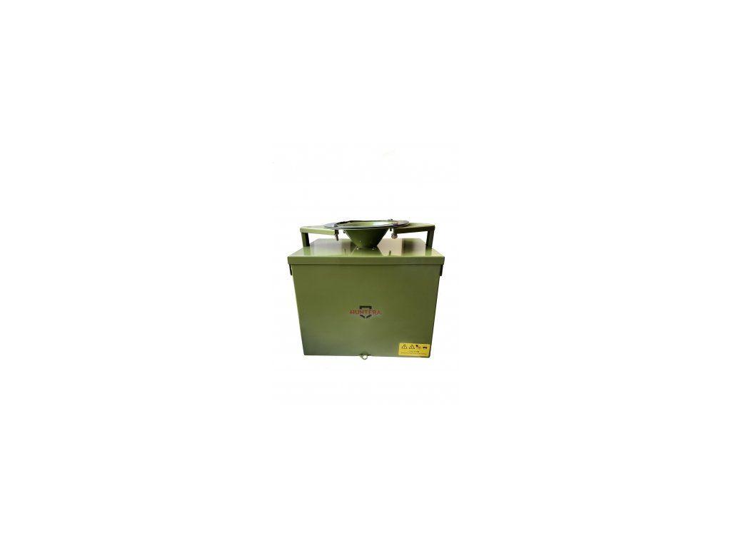 Krmný automat UAB směrový (2 motory) kovový 12V