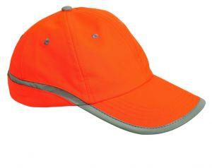 Kšiltovka TAHR oranžová reflexní
