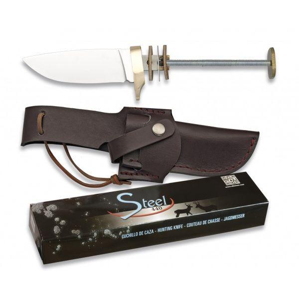 Albainox nůž HUNTING - polotovar s pevnou čepelí a pouzdrem Martinez Albainox