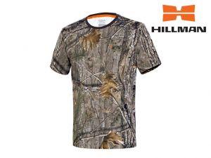 Myslivecké tričko Hillman kr. rukáv Cotton - kamufláž