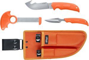 Nůž Walther Hunting Knife Set oranžový