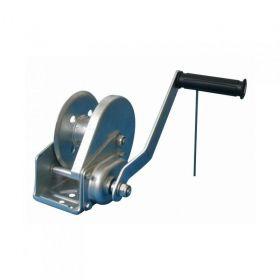 Ruční lanový naviják, 600 kg - nerezová ocel