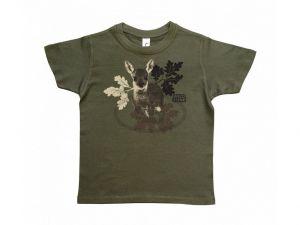 WildZone triko dětské - srnče