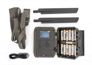Fotopast OXE Panther 4G, externí akumulátor a napájecí kabel