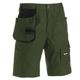 Pánské šortky BATUA - zelené | 52 (H46), 56 (H50), 58 (H52)