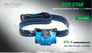 Čelová Svítilna Eco Star Zelená NexTORCH