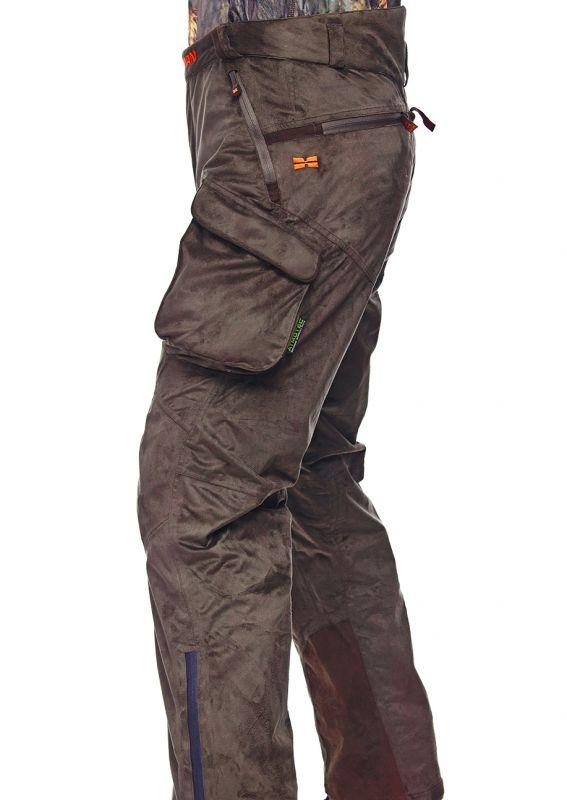 Hillman Muscle Pants zimní kalhoty - dub