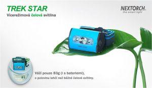 Multifunkční čelová svítilna NexTORCH TREK STAR