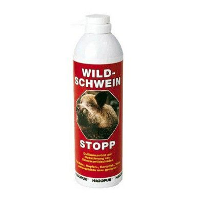 Pachový ohradník HAGOPUR - Ochrana před prasaty – červený (Wild-Schwein-Stopp)