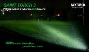 Svítilna NexTORCH SAINT TORCH 3