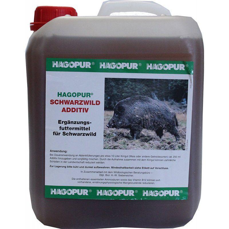 Vnadidlo HAGOPUR - Příkrm černé zvěře (Schwarzwild-Additiv)