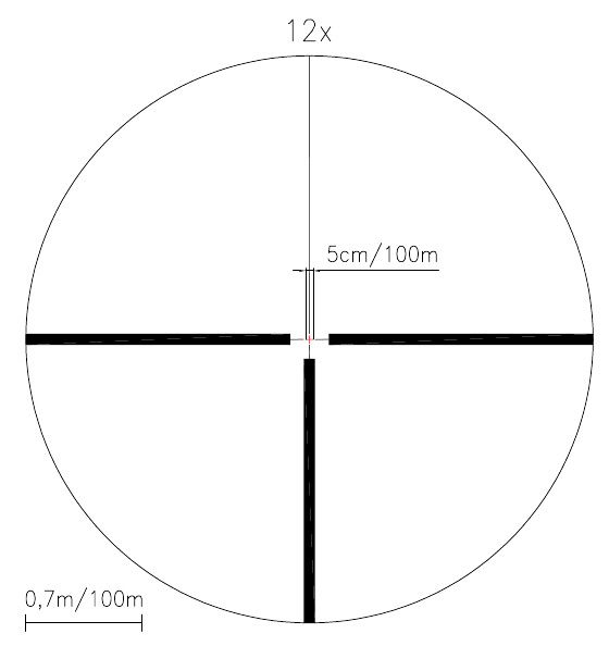 Puškohled Meopta MeoStar R1r 3-12x56 RD/MR (červený bod)