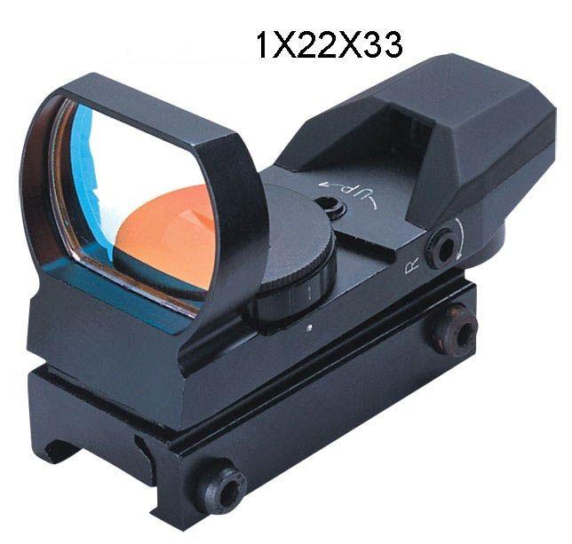 Kolimátor FOMEI 1x22x33 mm RED (21mm)