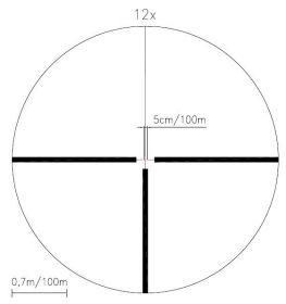 Puškohled Meopta MeoStar R1r 3-12x56 RD (červený bod)