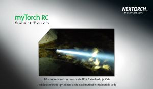Svítilna NexTORCH myTorch RC 2AA - nabíjecí