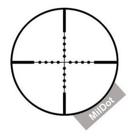 Puškohled Delta Optical Titanium 6-24x42 Mildot