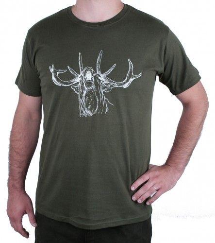 AFARS Myslivecké tričko jelen