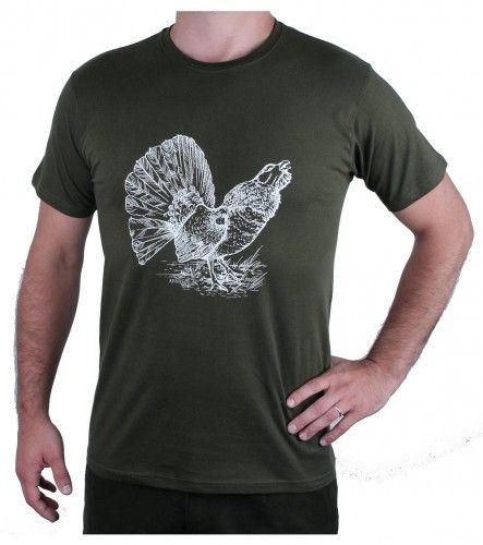 AFARS Myslivecké tričko tetřev