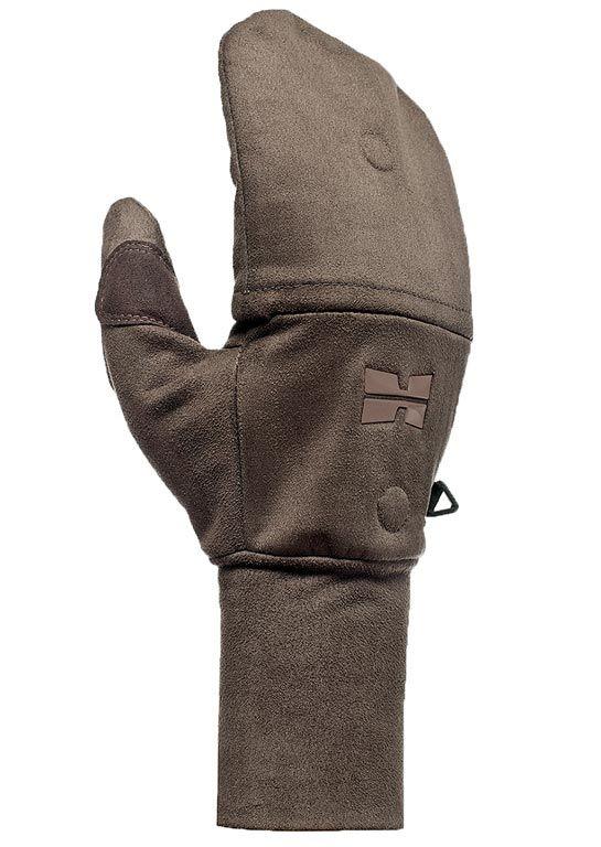 Hillman Windproof flap gloves lovecké zimní rukavice s klopou - dub