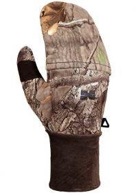Hillman Windproof flap gloves lovecké rukavice s klopou - 3DX kamufláž