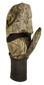 Hillman Windproof flap gloves lovecké zimní rukavice s klopou - 3DX kamufláž