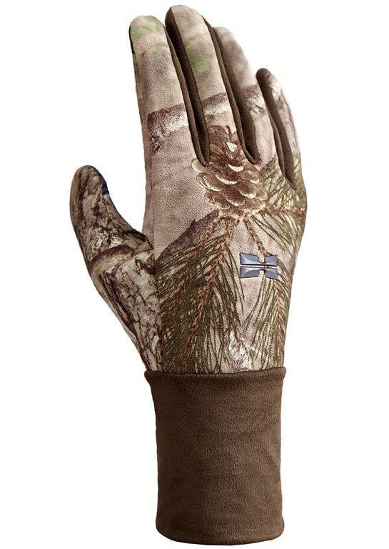 Hillman Windproof gloves lovecké zimní rukavice - 3DX kamufláž