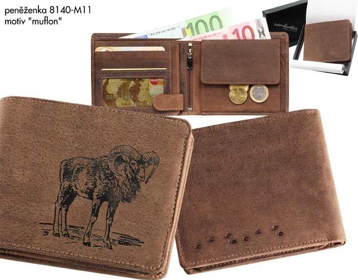 Myslivecká peněženka - muflon II Zamlinsky