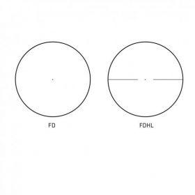 Puškohled Delta Optical DO Titanium 1-5,8x24 FD