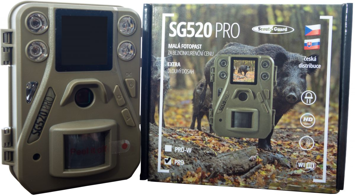 ScoutGuard SG520 PRO W