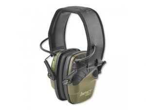 Elektronická střelecká sluchátka Howard Leight Impact Sport - zelené