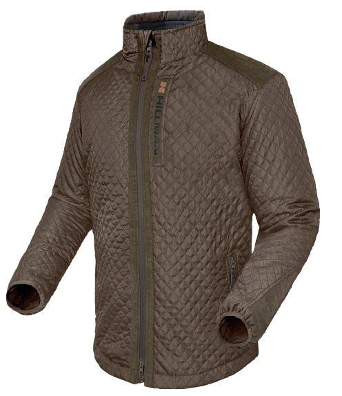 Hillman Quilted Jacket lovecká bunda - dub