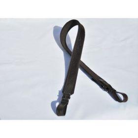 Kožený řemen na zbraň 3 cm - filc