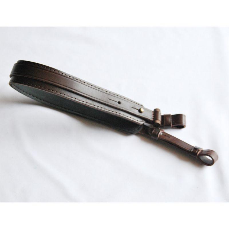 Kožený řemen na zbraň 4 cm - stahovací Zubíček