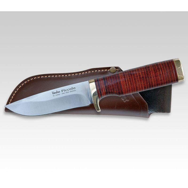 Lovecký nůž LINDER PICCOLO LEATHER 442810