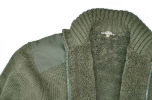 Lovecký svetr Furet s kožíškem a výšivkou LMA
