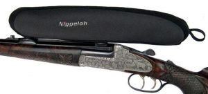 Neoprenový návlek NIGGELOH - na puškohled (optiku) - černý